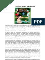 Cerita Rakyat Riau