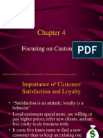 Focusing in Customer Chapter 4
