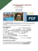 SERVAS Goa Conf09 Registration Form