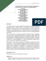 Análisis de Elementos que intervienen en el Proceso Enseñanza-Aprendizaje