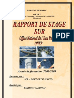 Rapport de Stage ONEP