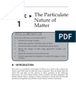 Topic 1 the Particulate Nature of Matter