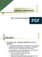 Laboratorio, Índice Glucémico (glicémico)