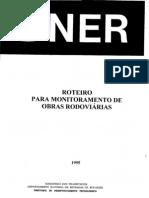 Roteiro para Monitoramento de Obras Rodoviárias - 1995
