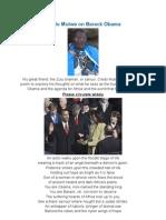 Credo Mutwa on Barack Obama