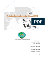 Study of Asian Financial Crisis 1997