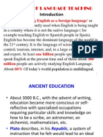 History of Language Teaching