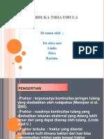 Fraktur Terbuka Tibia Fibula Sinistra (Power Point)