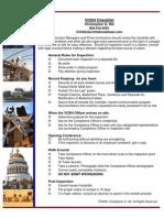 VOSH Inspection Checklist
