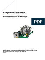 Manual Compressor de Alta Pressao