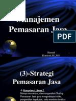 3 Strategi Pemasaran