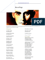 ALONSO Rodolfo -poemas inéditos- Buscando a Kafka en Praga