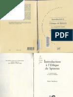 33546849 Pierre Macherey Introduction a l Ethique de Spinoza Cinquieme Partie Les Voies de La Liberation
