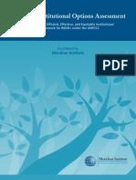 REDD+ Institutional Options Assessment (2009)