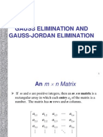 Gaussian GaussianJordan