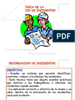 2 RECORDACION de Incidentes VID.ppt