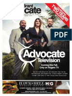 The Brant Advocate, Issue 25, September 2013