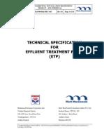 Tech Specs for ETP