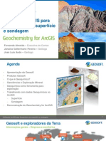 Utilizando ArcGIS Para Geoquimica de Superficie e Sondagem 2013
