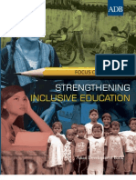 Strengthening Inclusive Education