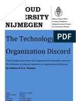 The Technology-Organization Discord