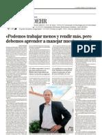 Entrevista JIM LOEHR // EL MUNDO QUE VIENE
