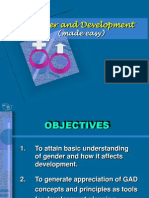 Gender and Development made easy