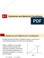 cylindrical and spherical- álgebra lineal