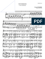 Schubert - Lindenbaum [in G]