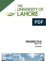 university of lahore prospectus