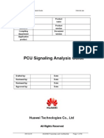 Huawei PCU Signaling Analysis Guide