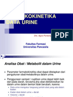 Farmakokinetika Data Urine( 6)