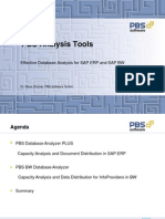 PBS Analysis Tools for ERP and BI