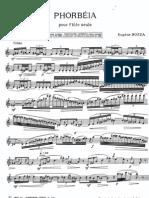 128596021 Bozza Phorbia for Flute Solo
