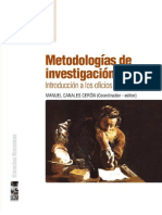 Metodologías de Investigación Social - Manuel Canales
