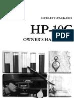 Hp10c Owner Handbook