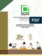 Reglamento Evaluac y Certif 2013
