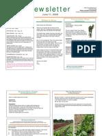 2009 - 06-11 newsletter