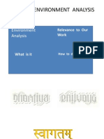 Business Environment Analysis  Through Multiple  Perspective