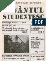 Cuvantul Studentesc Anul I Nr 1 1993