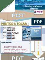 Grupo Uno(1)Pdt600 Pdt601 Pdt610 Pdt616 Pdtplame