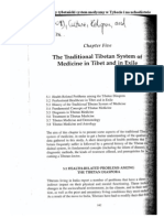 The Traditional Tibetan System of Medicine in Tibet and in Exile by J Pietkiewicz