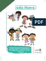 Manual de Implementacion Escuela Nueva Tomo 2