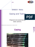Casing and Tubing Slides