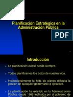 Planificación Estratégica PRIMERA PARTE