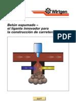 Bitumen Espumado Spa