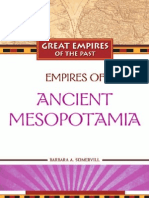 Empires of Ancient Mesopotamia Great Empires of the Past