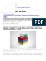 Revista .Seguridad - Firewall de Bases de Datos - 2013-07-23