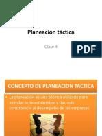 Clase 4 - Planeación táctica.pptx