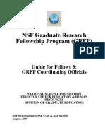 NSF GRFP Fellow Guide